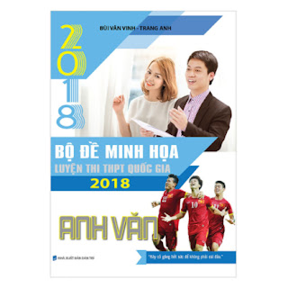 Bộ Đề Minh Họa Luyện Thi THPT QG 2018 Anh Văn ebook PDF EPUB AWZ3 PRC MOBI