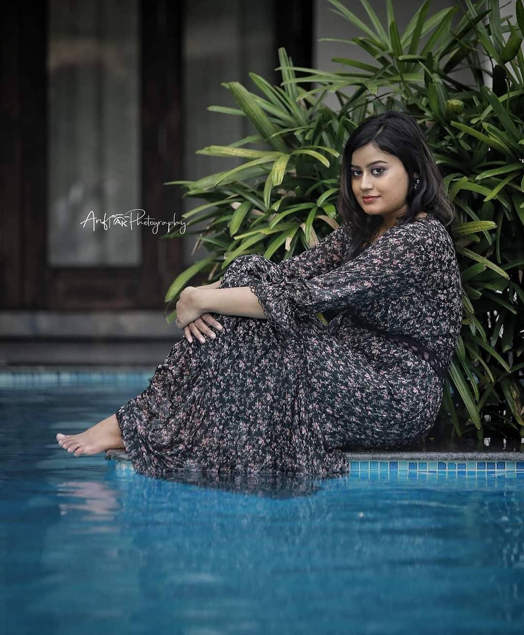 Actress Ansiba Hassan