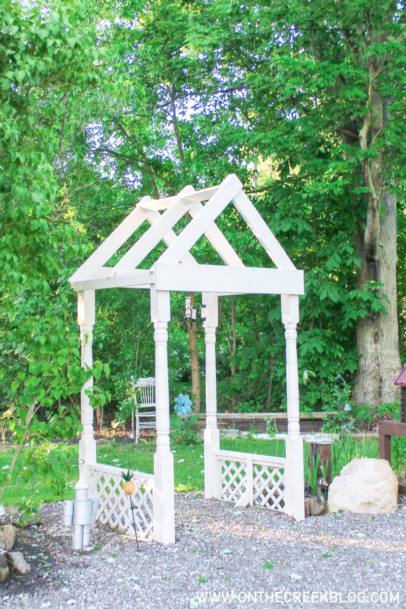 Creating a chippy & distressed solar powered chandelier   On The Creek Blog
