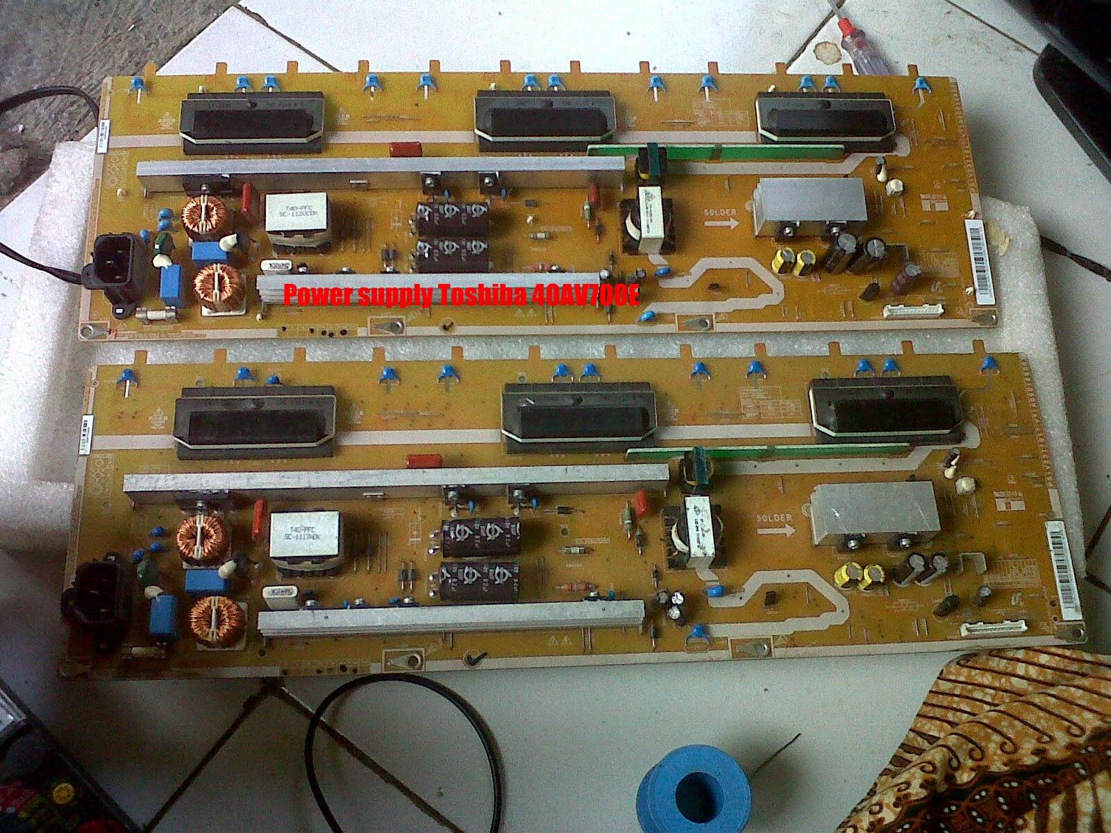 Power Supply Toshiba 40AV700E