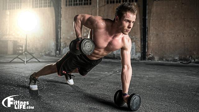 تضخيم العضلات للمبتدئين