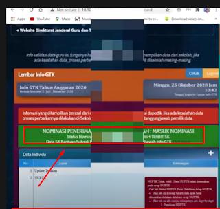 nominasi penerima subsidi upah Info GTK