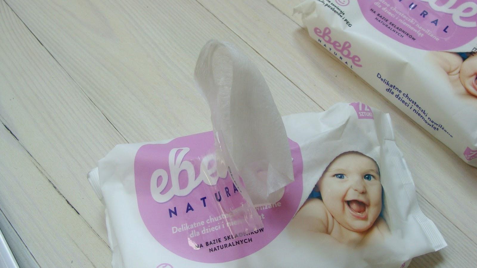 Ebebe Natural - chusteczki nawilżane z dobrym składem
