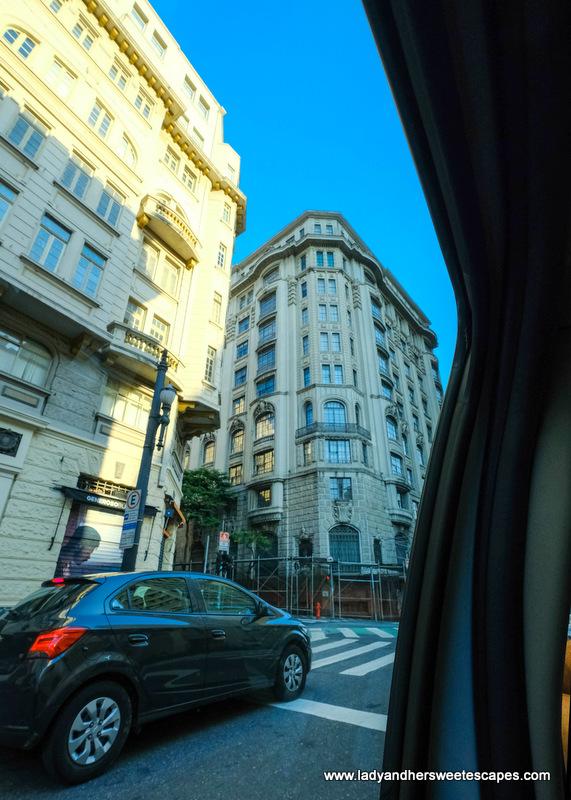 streets of Sao Paulo Centro