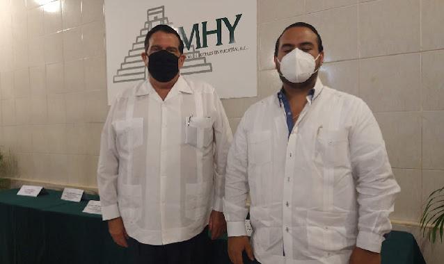 Presidirá Juan José Martín Pacheco la Asociación Mexicana de Hoteles de Yucatán para el periodo 2021-2023