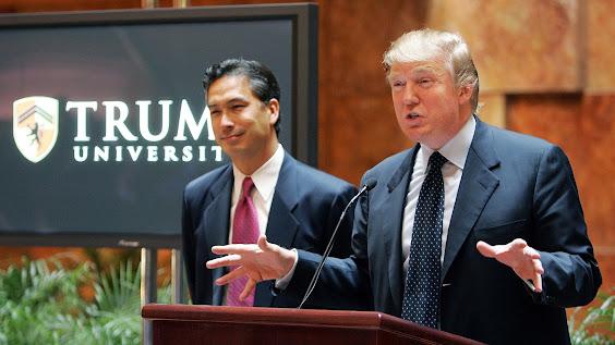 Trump University academia scam fraud crime