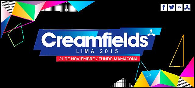 CreamFields Lima 2015 - Sorteo de Entradas