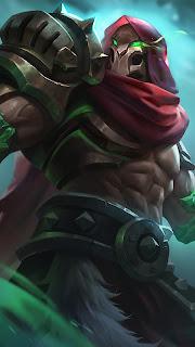 Aldous Red Mantle Heroes Fighter of Skins V2