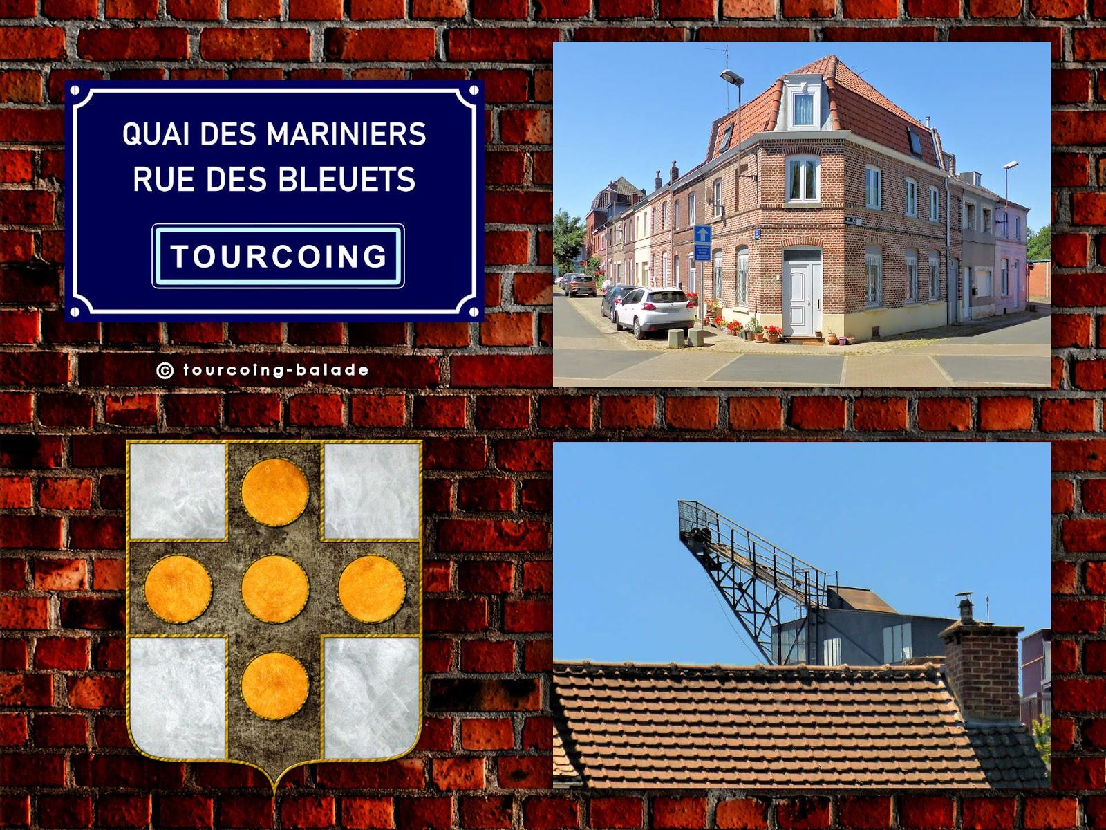 Quai des Mariniers et Rue des Bleuets, Tourcoing, 2020