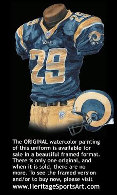 St. Louis Rams 2007 uniform