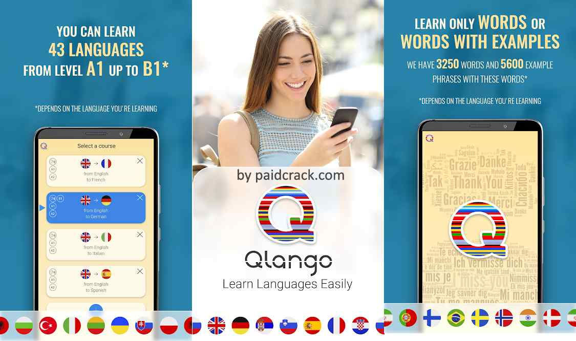 Qlango - Learn Languages Premium Mod Apk 1.070
