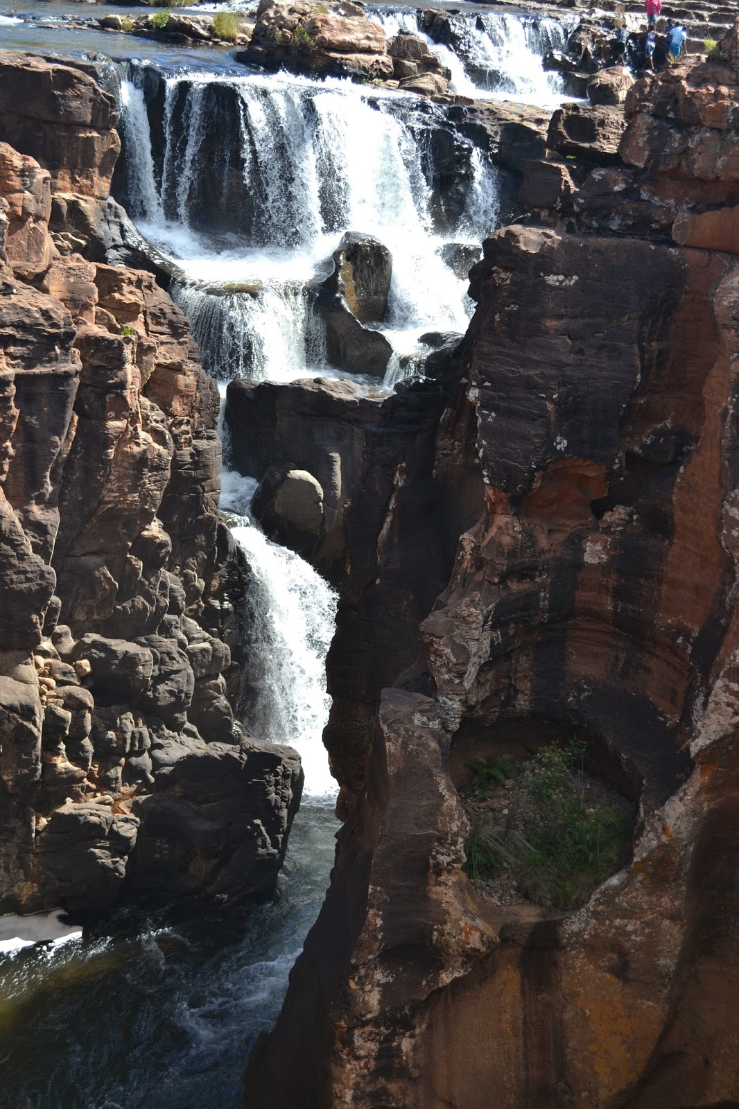 Bourke's Luck Potholes waterfall