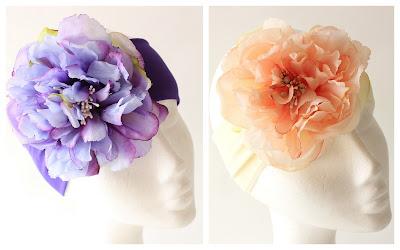PV 2018 Adornos florales Banda elastica flor grande