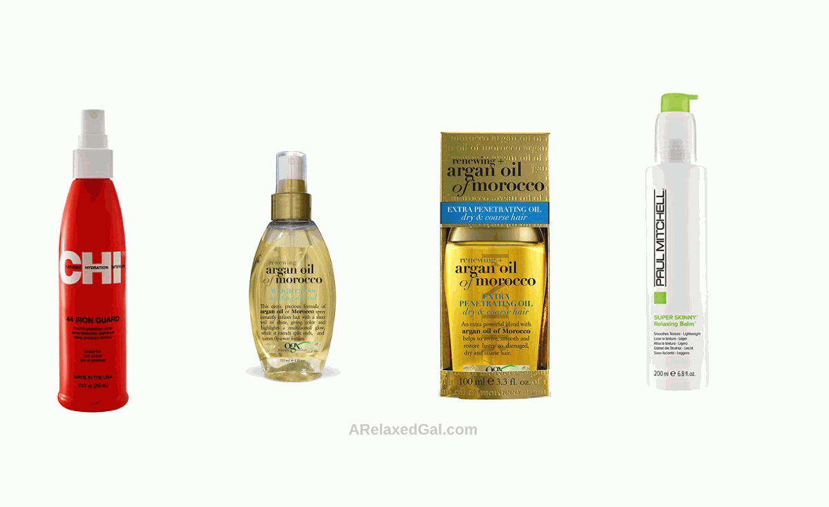 Hair care gift ideas - styling products | A Relaxed Gal