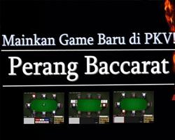 Perang Baccarat Game Terbaru