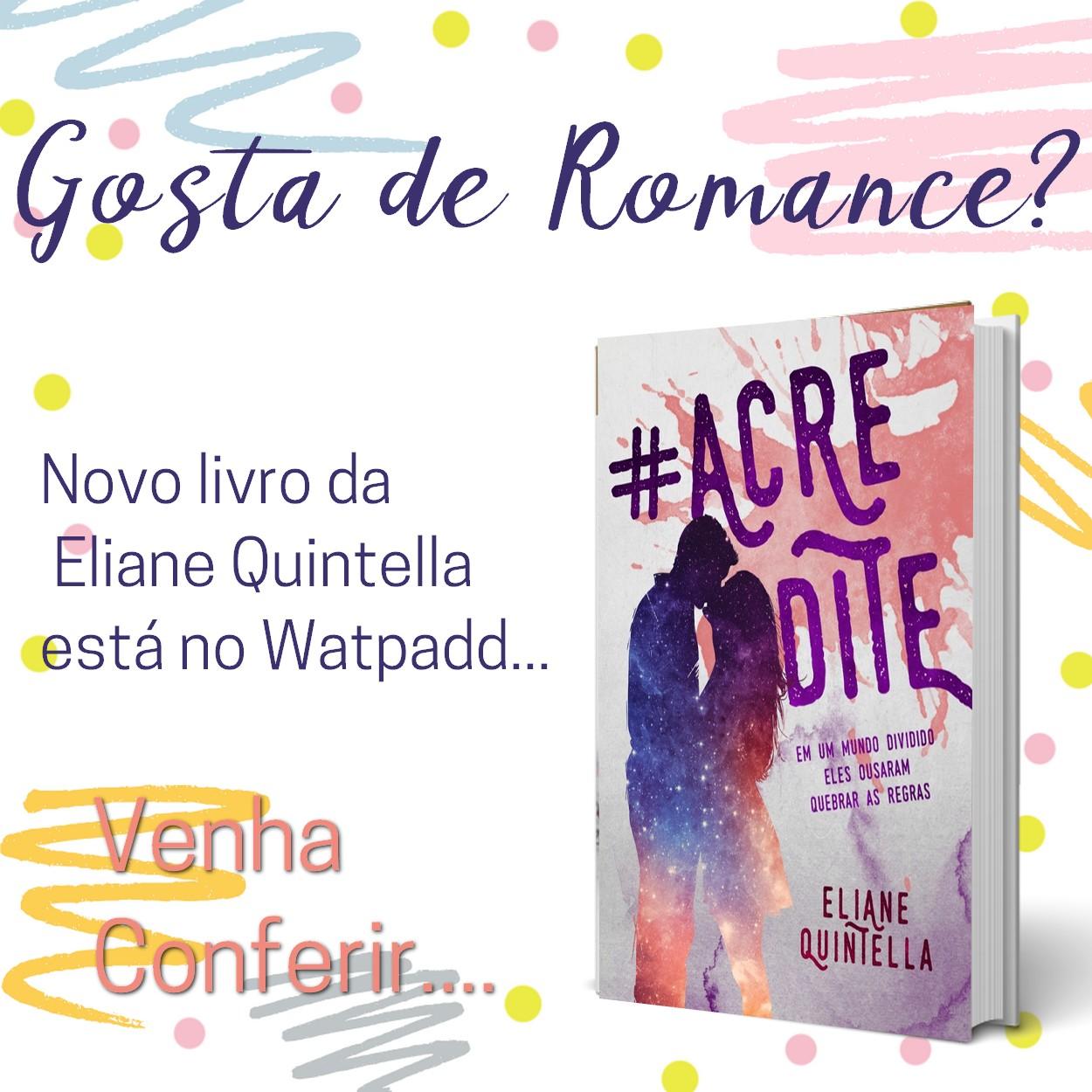 Livro - Acredite da Eliane Quintella