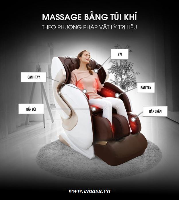 Ghế Massage toàn thân Homesport HS686