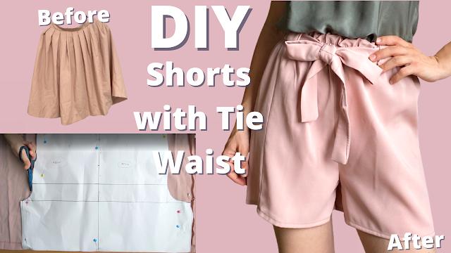 Diy how to make shorts   beginner friendly sewing tutorial