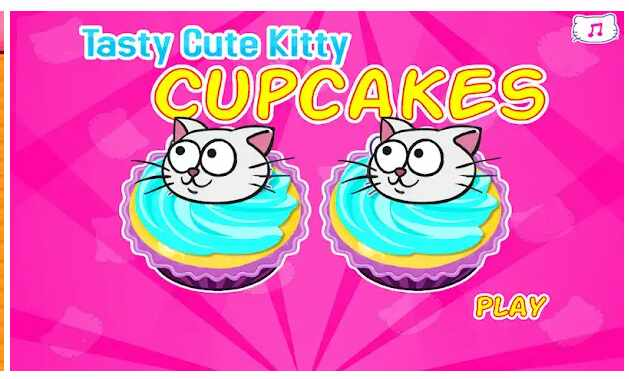 Game Hello Kitty Kitty Cupcakes Cooking Games