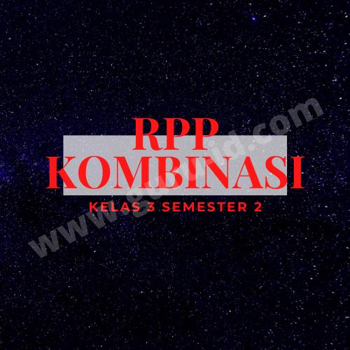 gambar RPP PJJ kelas 3 semester 2
