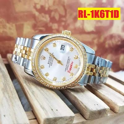 Đồng hồ nam dây inox trắng RL 1K6T1D