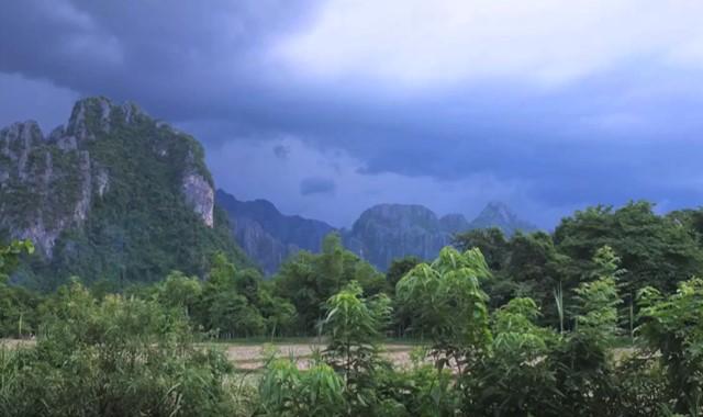 kondisi geografis laos