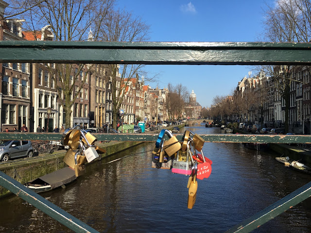 Love Lock Bridge Amsterdam