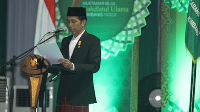 DjokEd : Presiden Jokowi Tipu PBNU