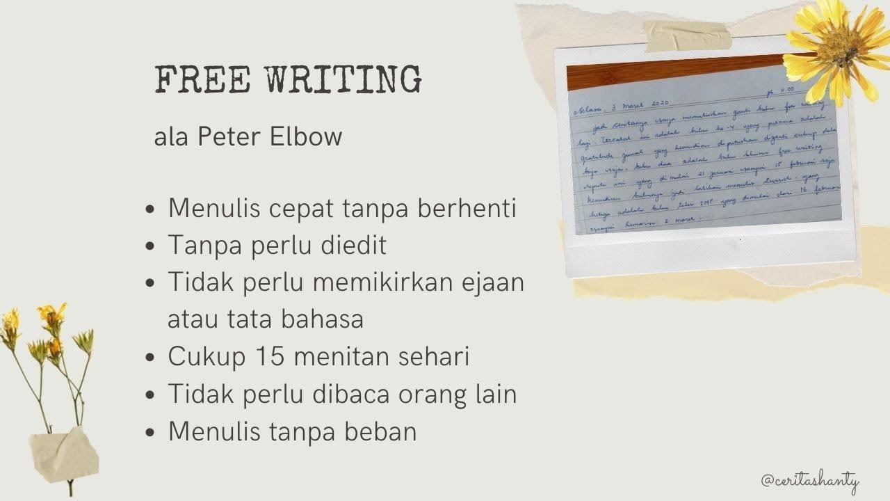 free-writing-peter-elbow