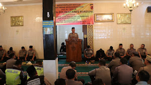 Polrestabes Bandung Memperingati Maulid Nabi 1441 H - 2019 M