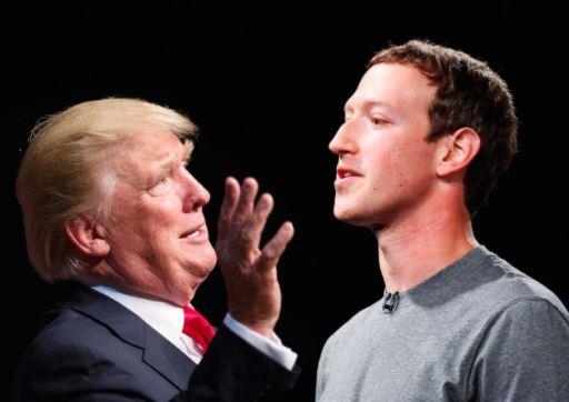 Trump, Facebook's Zuckerberg in fire-for-fire (Attacks Each Other On Social Media)