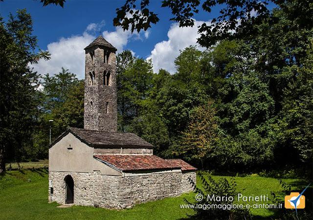 Chiesa di San Maurizio a Porlezza,vista dell'esterno