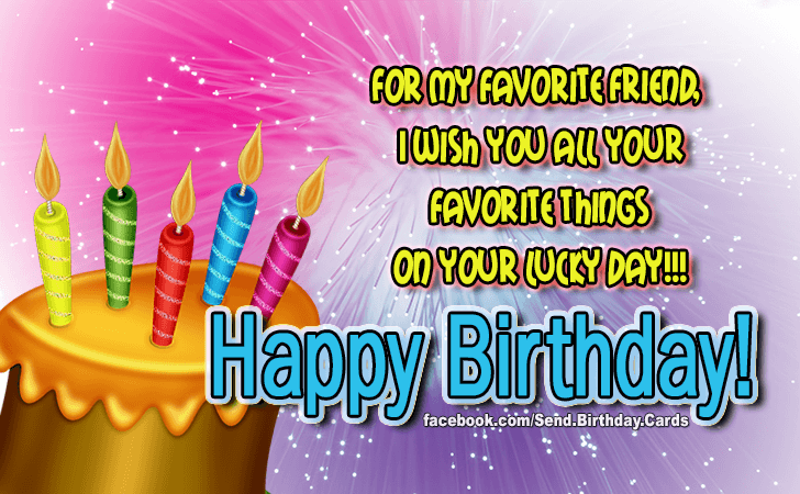 New Birthday Messages for Friend with Images