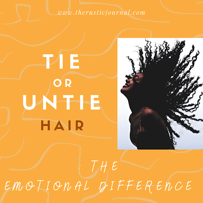 Tie or Untie Hair: The Emotional Difference