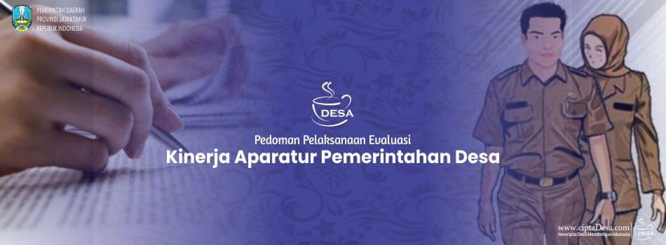 Pedoman Pelaksanaan Evaluasi Kinerja Aparatur Pemerintahan Desa Provinsi Jawa Timur