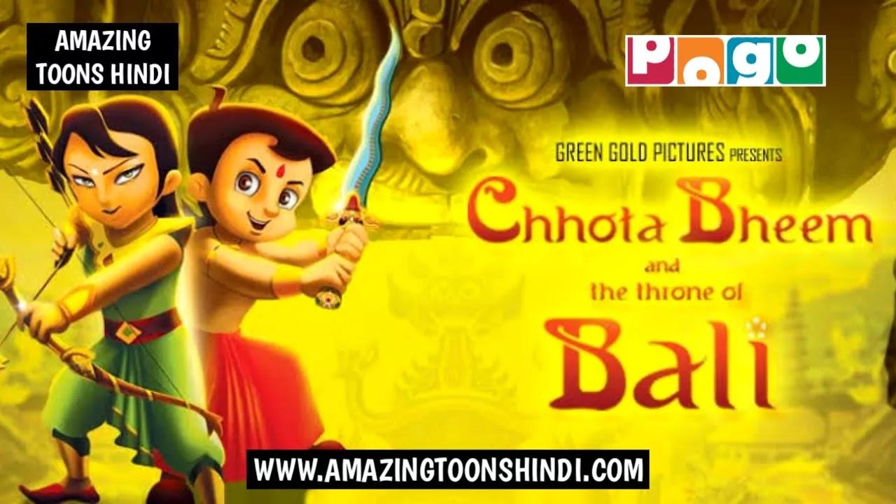 Chhota Bheem and the Throne of Bali Full Movie In Hindi Watch Online