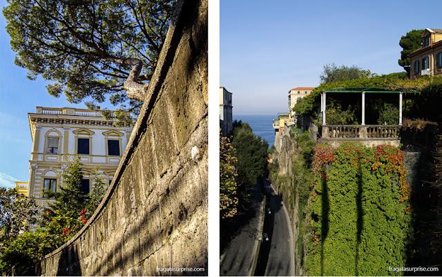 Villas de veraneio em Sorrento, Itália