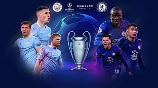 نتيجة مباراة مانشستر سيتي وتشيلسي في نهائي دوري أبطال أوروبا اليوم السبت 29-05-2021