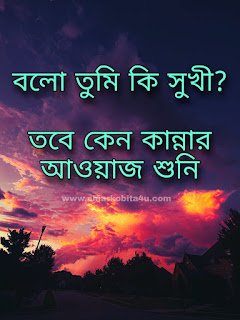Bolo Tumi Ki Shukhi Lyrics