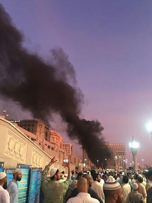Ledakan di Madinah