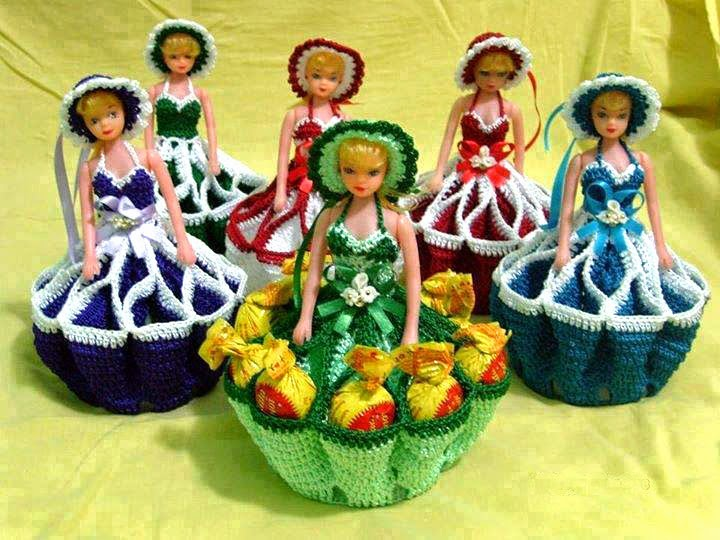 Tejidos Artesanales En Crochet Como Tejer Vestidos En