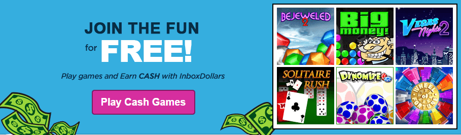 Play games to earn money | Inbox dollars