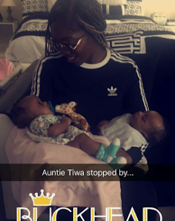 Tiwa Savage also pays visit to Freda Francis, Psquare's Paul and Anita Okoye