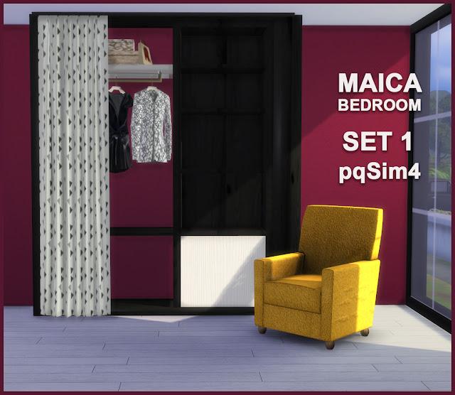 Armario y sillón Maica 14