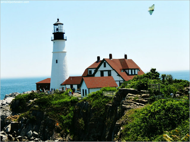 Portland Head Light en Cape Elizabeth, Maine