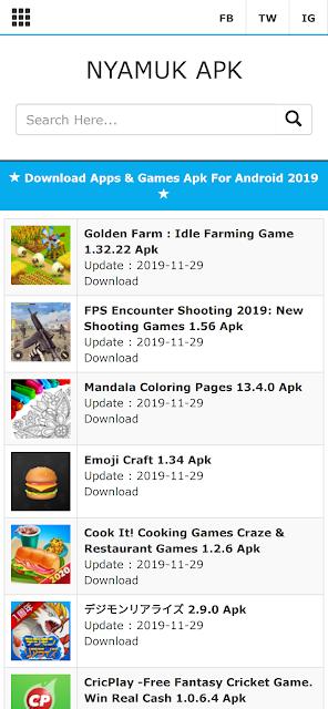 NYAMUK APK Situs Download Aplikasi Dan Game Android Terlengkap