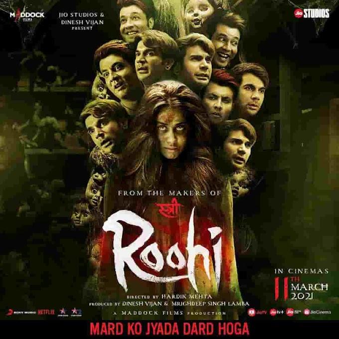 Roohi full movie download filmyzilla Tamilrockers Filmywap 480p 720p