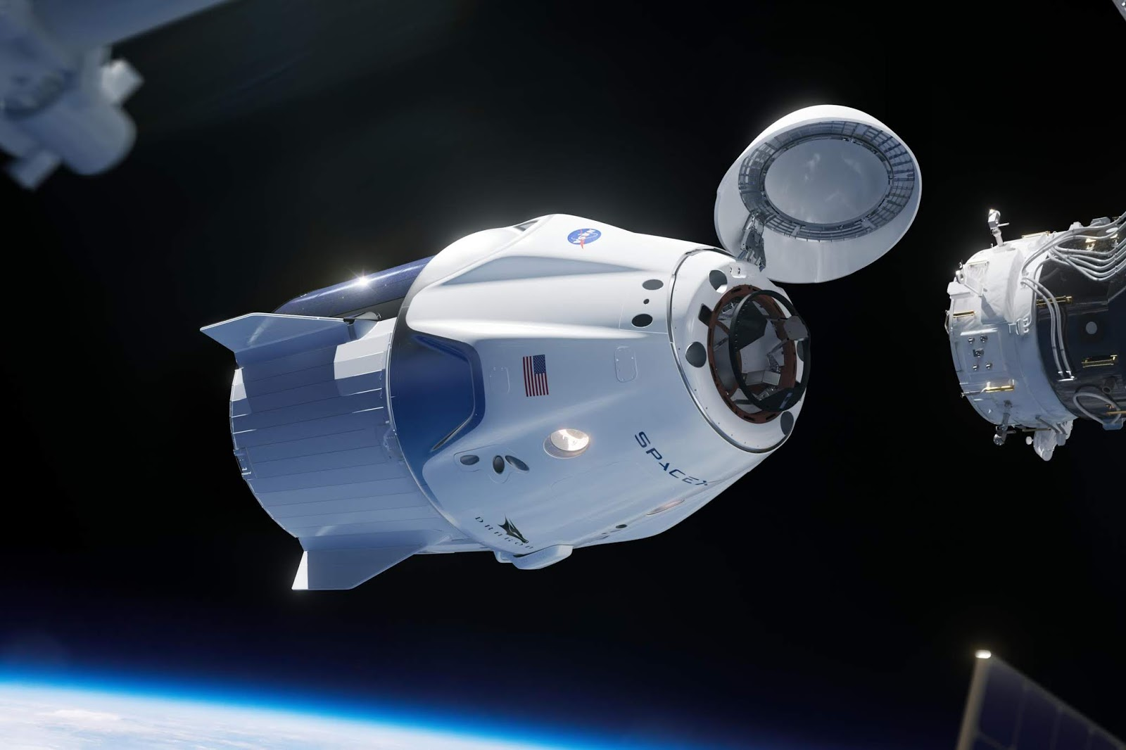 [Diretta] SpaceX, l'attracco della Crew Dragon alla ISS