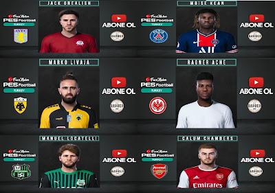 PES 2021 Facepack Vol 1 by PES Football Turkey