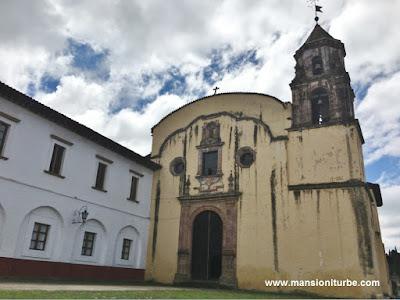 Temple of la Compañia in Patzcuaro, Michoacan
